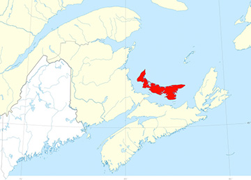 PEI amongst the Maritimes