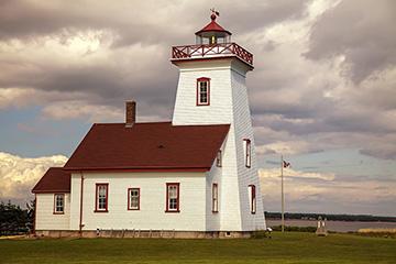 Lighthouse on Panmure Island